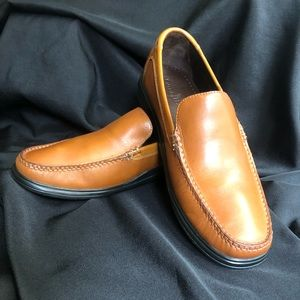Cole Haan Saddle Tan Leather Driving Loafer SZ 10M